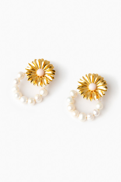 pearl heirloom earrings
