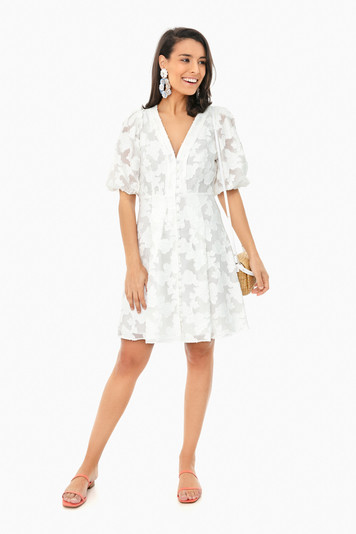 white darline dress
