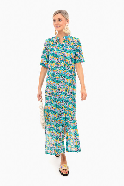 jardin seagreen renee dress