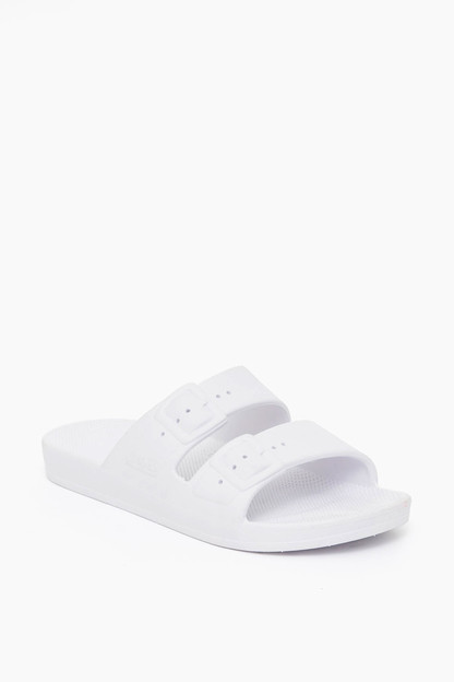 white moses sandals