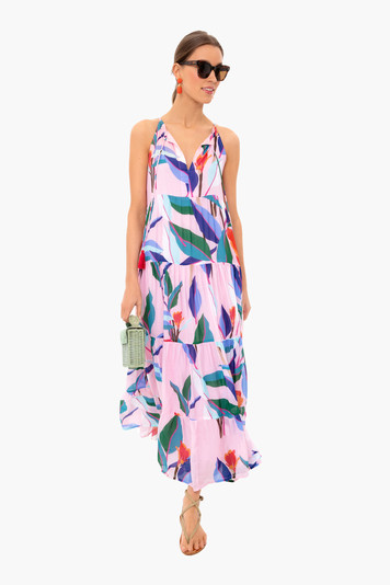 botanica long tassel dress