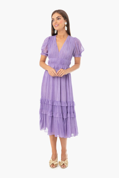 lavender elodie dress