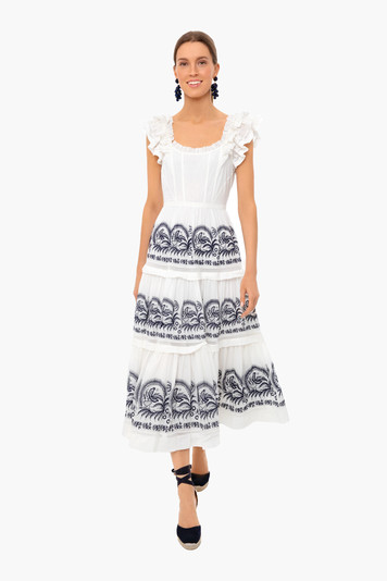blanc julietta dress