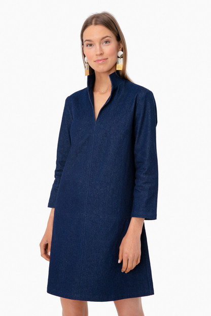 denim clifton dress