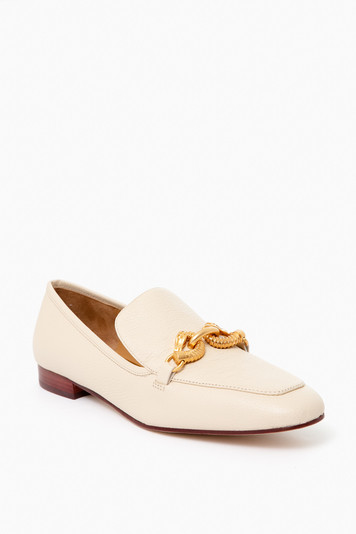 new cream jessa 20mm loafer