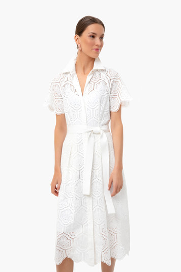savannah short sleeve midi dress