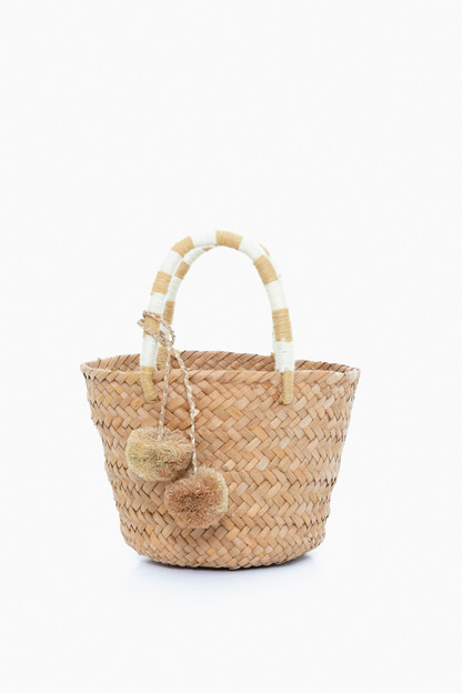 Natural Mini St. Tropez Tote