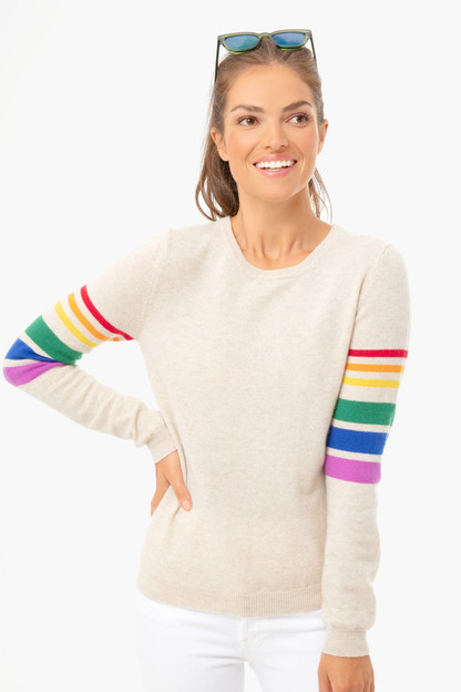 Buff Reboot Rainbow Arm Sweater