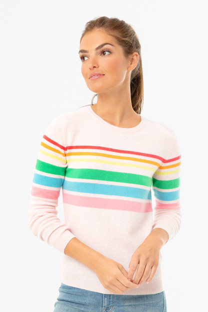 blossom reboot rainbow sweater