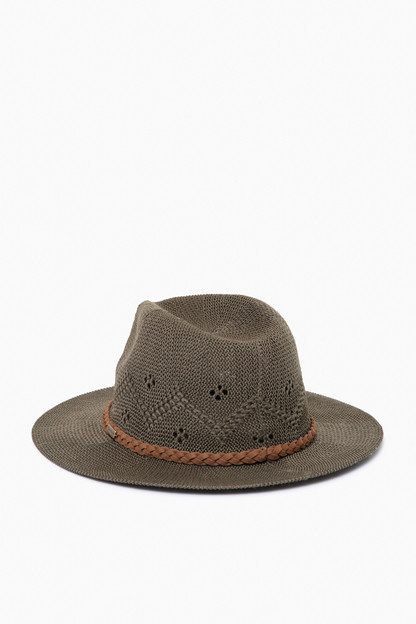 olive flowerdale trilby