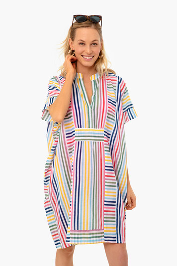rainbow emerson short caftan