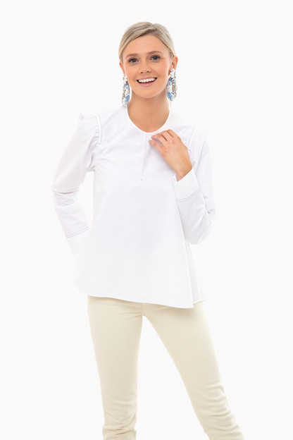 white inma top