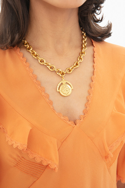 westerly coin necklace