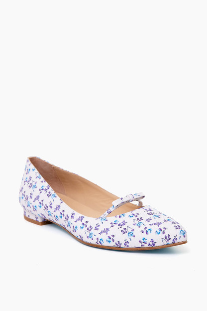 floral kate flats