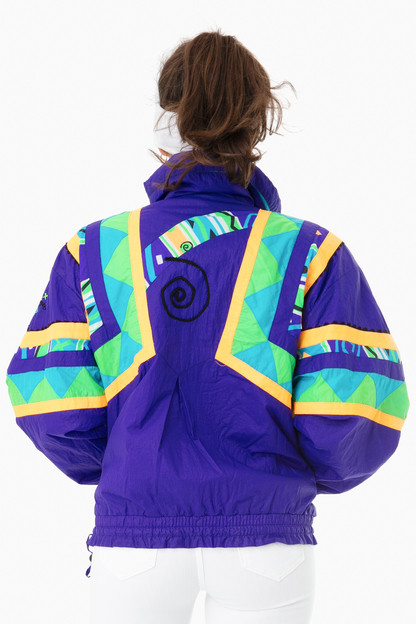 purple obermeyer voo doo jacket