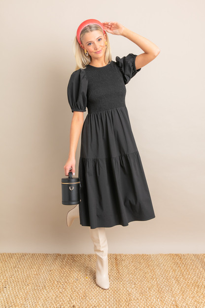Black Sussex Dress