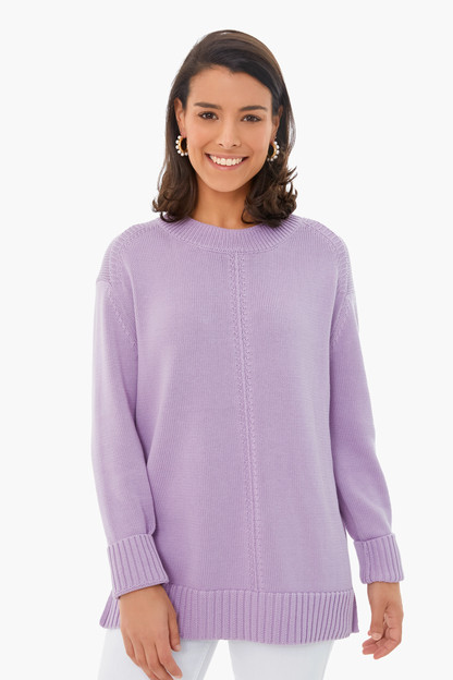 lavender brant point sweater