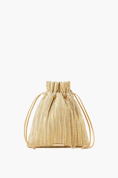 sibyl pleated pouch