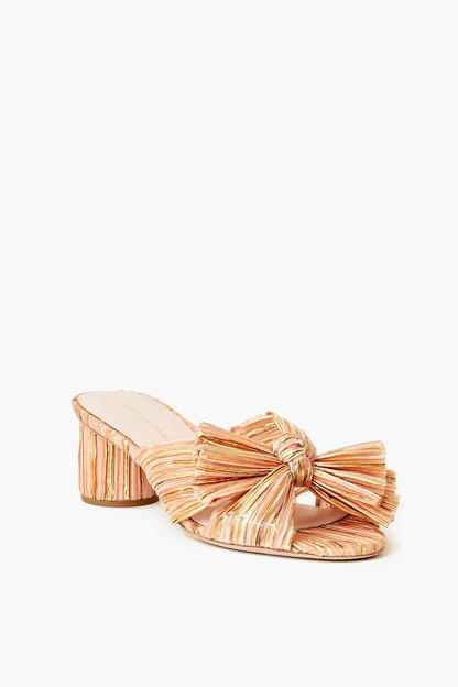 Bermuda Emilia Pleated Knot Mule Take 20% off with code RINGRING