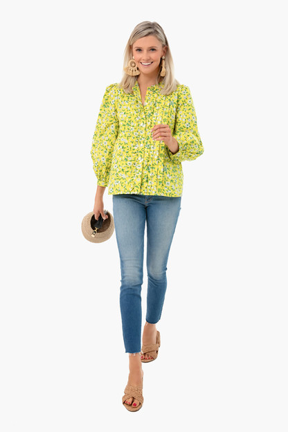 Audrey Sprig Aurora Long Sleeve Jennifer Top