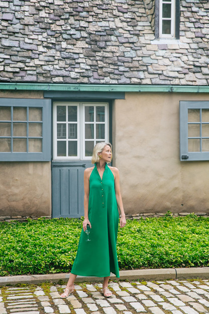 green jagger dress