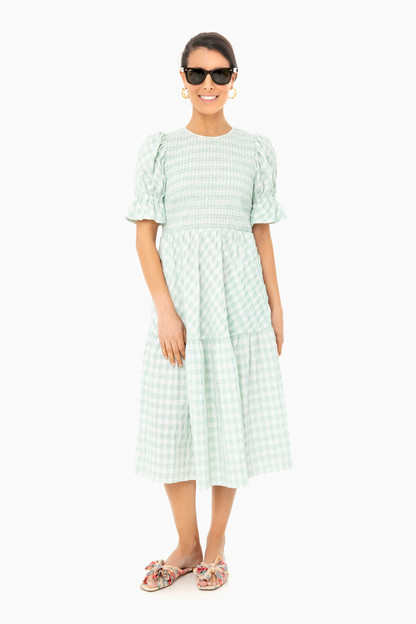 gingham sussex dress