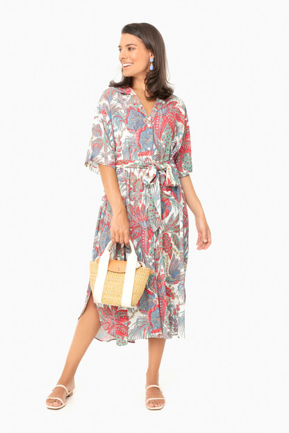 bird paisley ivory hobbs dress