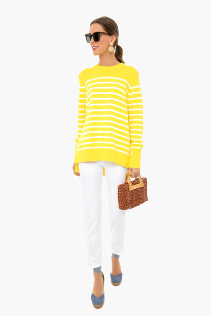sunshine bar harbor striped sweater