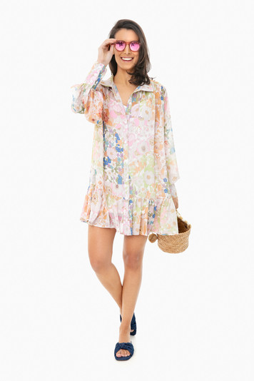 cynthia floral dress