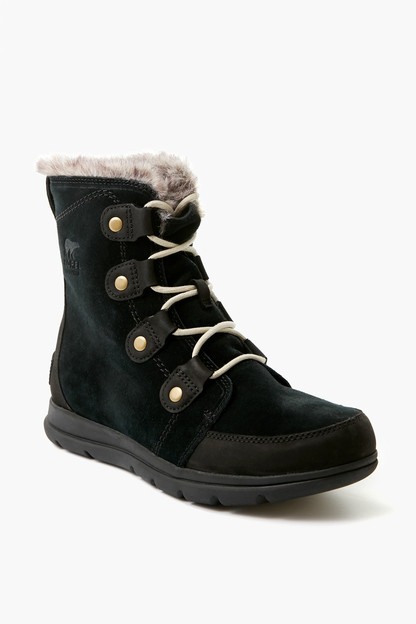 black explorer joan boots