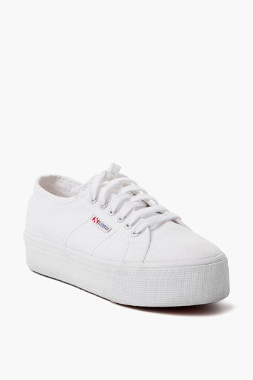 acot white platform sneakers