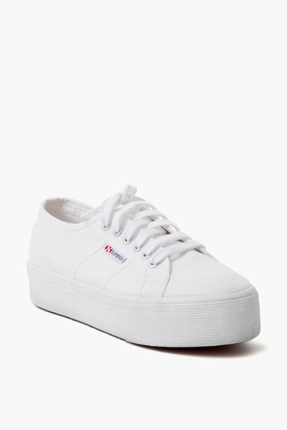 Acot White Platform Sneakers Take up to 30% off with code BIGSALE.