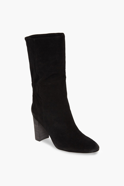 black suede barrie boots
