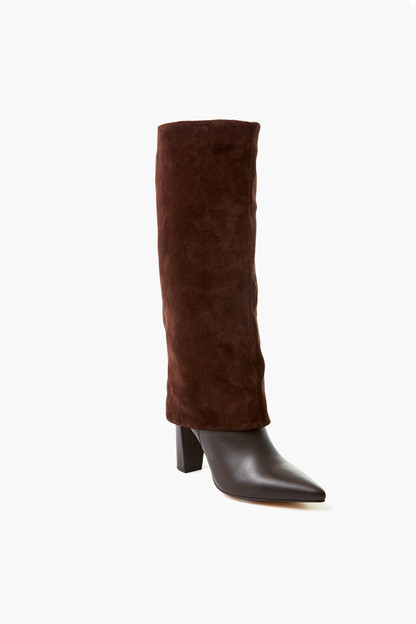 chocolate brown devil boots