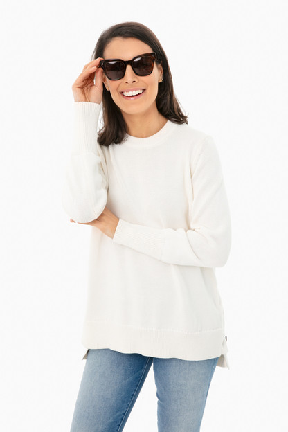 ivory bar harbor sweater