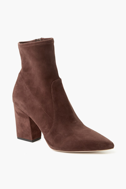 chocolate isla slim ankle bootie