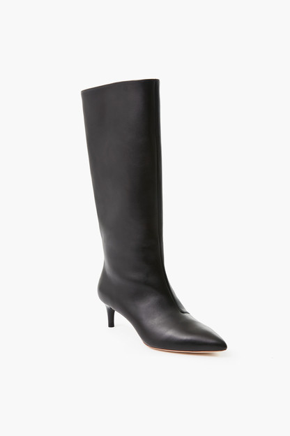 Black Gloria Tall Kitten Heel Boot Take up to 30% off with code BIGSALE.
