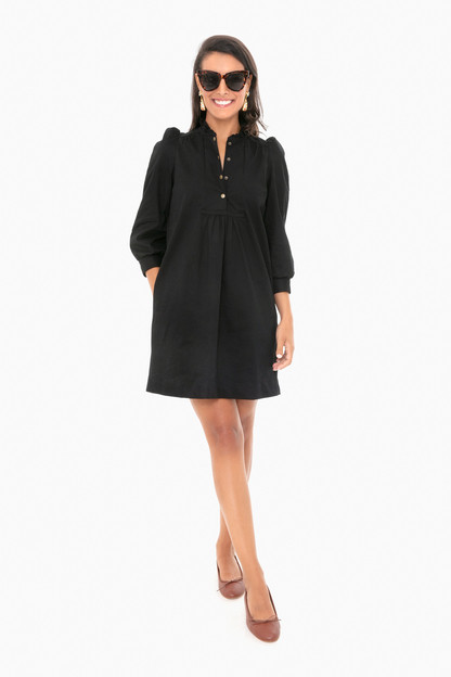 black claiborne dress