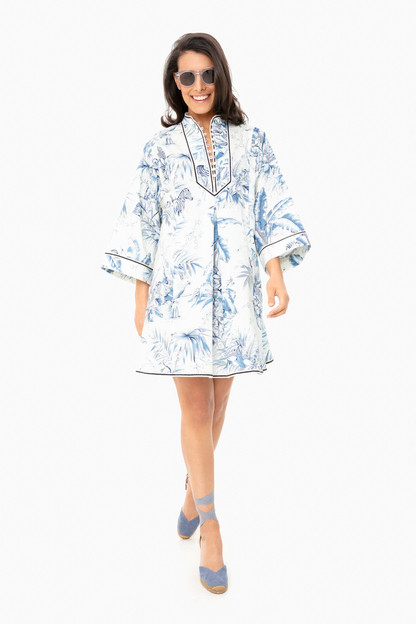 safari toile indre dress