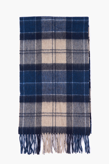 tempest trench tartan scarf