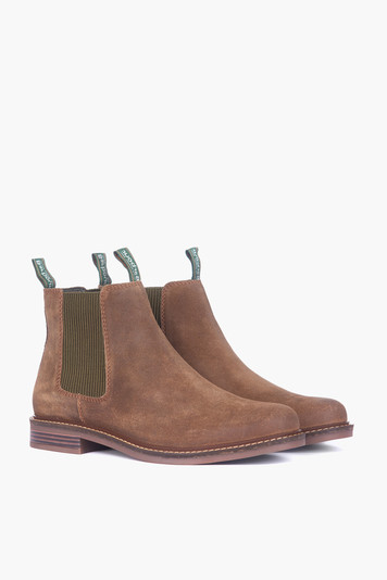 brown suede farsley boot