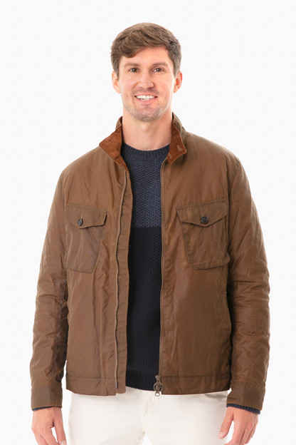 Brown Weldon Wax Jacket