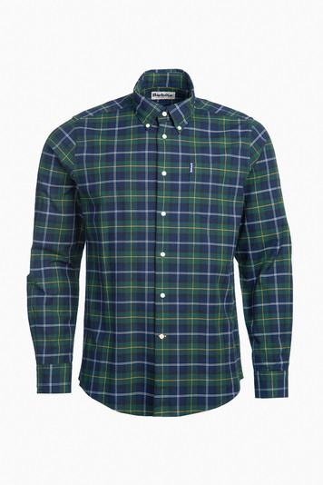 seaweed tartan 6 tailored shirt