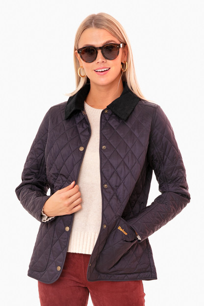 navy annandale quilted jacket