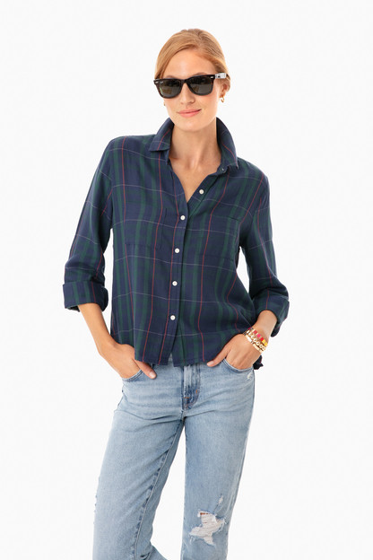blackwatch plaid beth shirt