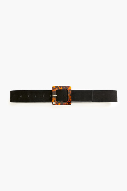 Tortoise Acetate Buckle Belt Take up to 30% off with code BIGSALE.
