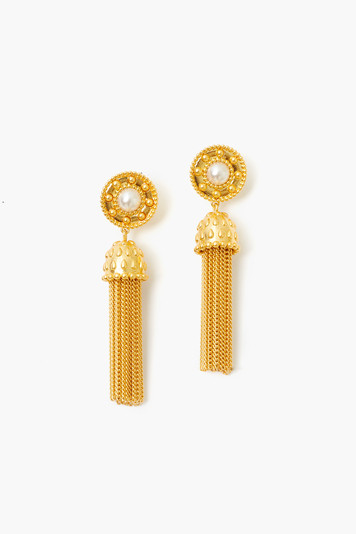 gold moon tassels
