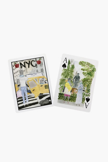 new york city playing cards