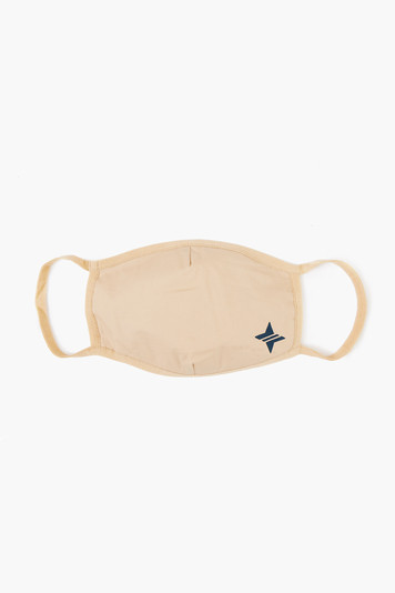 khaki civilian face mask