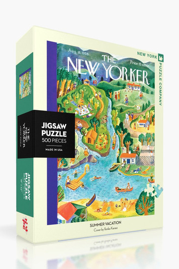 summer vacation jigsaw puzzle